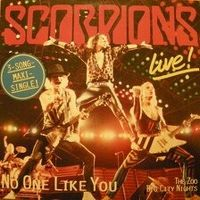 Cover Scorpions - No One Like You [Live]